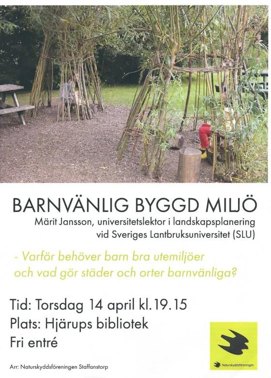 SNF Hjärup April 2016
